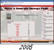 NatesDawgs.com in 2005.